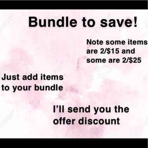Other - Bundle to save!!!
